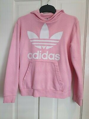Girls Adidas Hoodie Age 11-12 hoody excellent condition