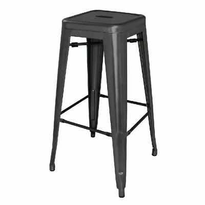 4 X Bolero Black Feet For Steel Bistro Stools And Chairs Furniture Spares