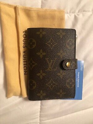 Louis Vuitton Authentic Small Ring Agenda PM Monogram