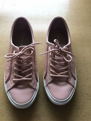 Lacoste Pink Leather Sneakers 39 8