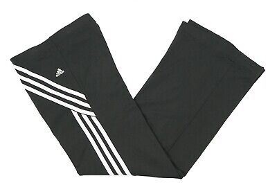 ADIDAS Flared Tracksuit Bottoms | Size 10 | Trackies Gym Sports Vintage
