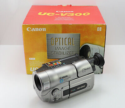 Canon Uc-V300 Camcorder Boxed 8Mm Analogue Video Tape Video-8