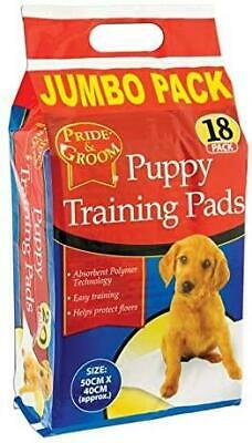 Puppy Dog Cat House Training Absorbent Toilet, Wee, Potty, Pee Pads 50cm x 40cm