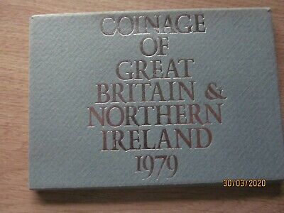 1979 proof  set coinage of great Britain & northern Ireland from the royal mint.