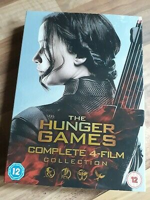 The Hunger Games Complete 4 Film Collection Box Set
