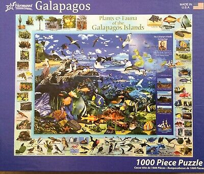 Galapagos 1000 Piece Jigsaw From Vermont By Gerald Newton
