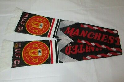 M.U.F.C. Vintage SCARF Manchester United Football Club Footie Supporter Fan ManU