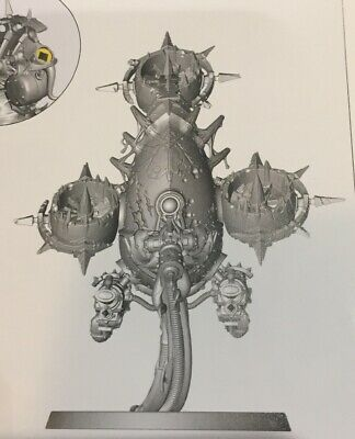 warhammer 40k dark imperium Death Guard Foetid Bloat-drone