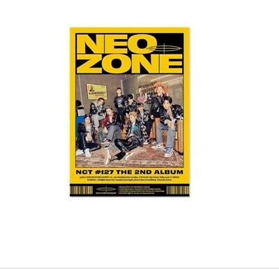 NCT 127 - The 2nd Album 'NCT #127 Neo Zone' [N Ver.] [New CD] UNOPENED