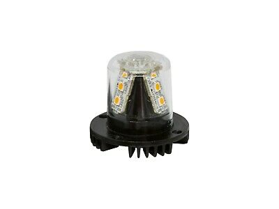 Covert Rescue Recovery Emergency Flashing Amber Hide Away LED Strobe Light Head