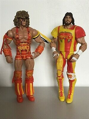 Wwe Mattel Series Elite Defining Moments Ultimate Warrior Macho Man Maniacs ?
