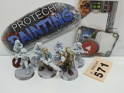 Star Wars Legion - Rebel Troopers Unit Expansion - Part Painted (571)