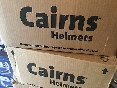 CAIRNS FIREFIGHTING HELMET FIRE RESCUE CAIRNS METRO 660c WITH FACE SHIELD