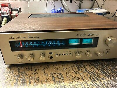 NAD NEW Acoustic Dimension Model 140 HIFI Klassiker Receiver
