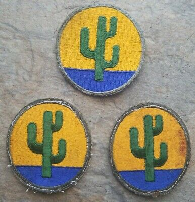 WW2 US Army 103rd Infantry Division cloth patch