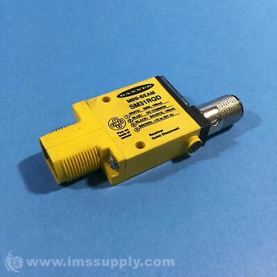 Banner SM31RQD Mini-Beam Photoelectric Sensor USIP