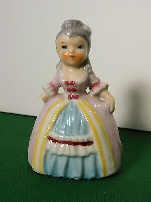 """Vintage Hand Painted Female Statue - approx. 3 1/2"""""""