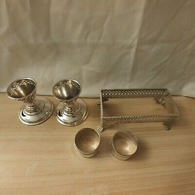 Job lot vintage silver plated items