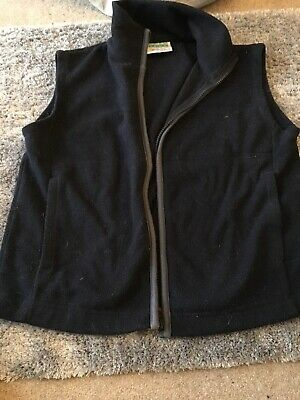 Girl Guides Navy Fleece Gillet Bodywarmer Size 32 Inches By David Luke VGC