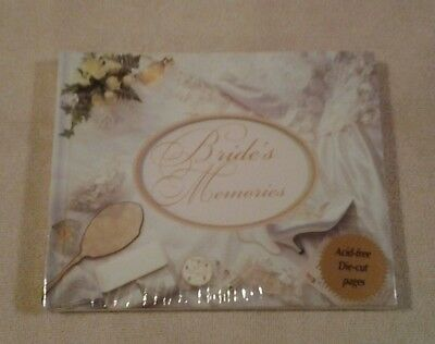 "New Seasons ""BRIDE'S MEMORIES"" photo album with acid free die-cut pages - NEW"