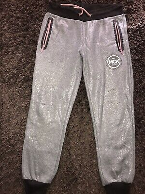 Mckenzie Girls Glitter Tracksuit Bottoms Joggers Age 13-15 Years