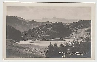 POSTCARD - Tarn Hows & Langdale Pikes, Lake District, Cumbria by G P Abraham