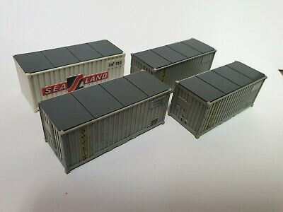 HO 20 Foot Containers
