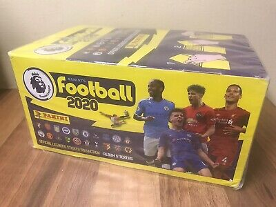 Panini Football 2020 - Premier League 100 Sticker Packets Full Box & Album*