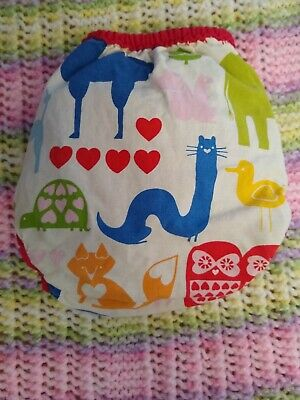 Best Bottom One Size Cotton  Diaper Cover  EAHAH every Animal Has A Heart