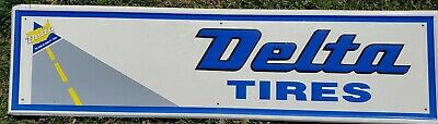 LMAS ~ Delta Tires Rectangular Garage Sign