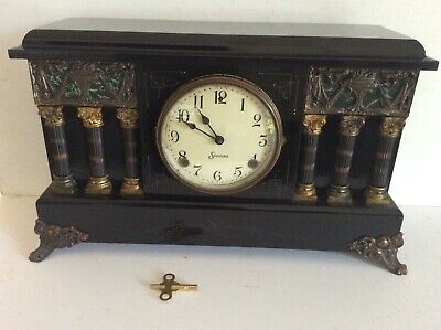 Sessions Mantel Clock 8 Day Striking Antique