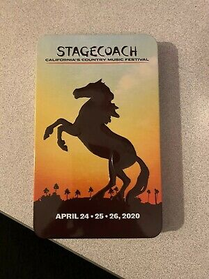 One General Admission Stagecoach 2020 Ticket 3-Day Pass 4/24-4/26
