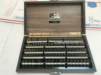 Starrett Webber gage RS 84A1 Rectangle Steel Blocks