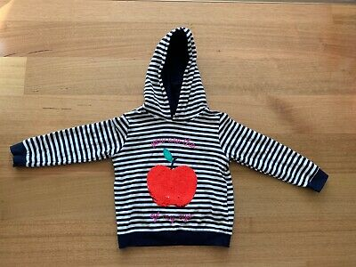 Size 6 Girls Sequin Colour Change Apple Cotton On Kids Hoodie Jumper Hoody