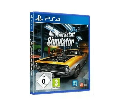 Autowerkstatt Simulator Playstation 4 PS4 neu OVP