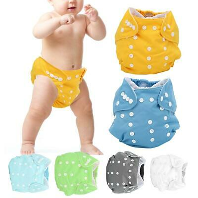 Adjustable Reusable Cloth Diapers Insert Pocket Nappy Washable for Baby Infant