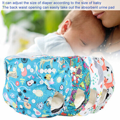 Washable Reusable Cloth Diaper Pants Disposable Nappy Insert Pad Storage Bag NEW