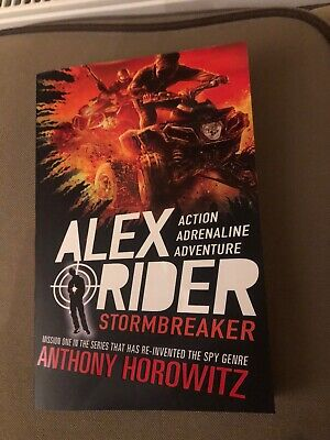 Alex Ryder Stormbreaker Book By Anthony Horowitz Paperback New