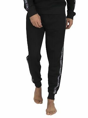 Tommy Hilfiger Men's Lounge Track Joggers, Black