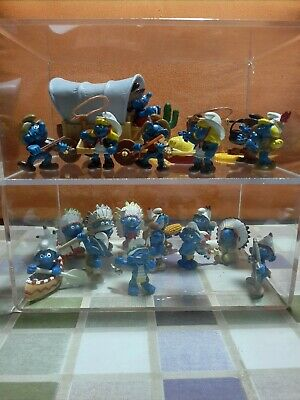 Smurfs indians and cowboys, playset 40603,