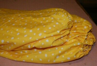 Two Fitted Cot Sheets-100% Cotton