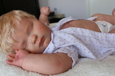 Realborn Joseph Sleeping by Angela V sculpt by Bountiful Baby /Reborn baby doll