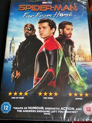 spiderman far from home dvd Brand New -sealed