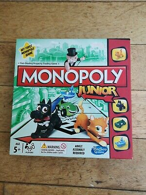 Monopoly Junior Board Gameage 5+ Used
