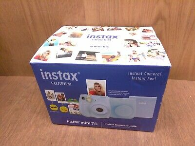 Fujifilm Instax Mini 7s Instant Camera Bundle Case, Film, Photo Album & Holders