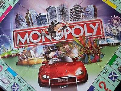 Monopoly Family Board Game Here And Now Limited Edition Complete ✅ 2005 London