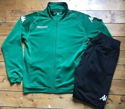 Kappa Player Tracksuit. Casual. Large Logo. Top & Bottoms. Size: M Adult.