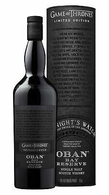 Oban - Game Of Thrones - Nights Watch Whisky 70cl