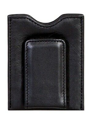 Scully Western Wallet Mens Soft Plonge Leather Magnetic Clip 21-11