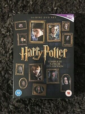 Harry Potter: The Complete 8-film Collection (DVD, 16-Disc Set, 2016)